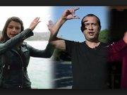 İşaret diliyle ünlülerden Atatürk'ün Gençliğe Hitabesi