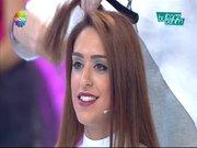 Kemal Doğulu, Tuğçe Ergişi'nin saçlarını kesti