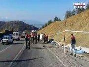 Isparta'da trafik kazası