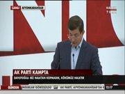 Başbakan Ahmet Davutoğlu'ndan Emine Ülker Tarhan'ın istifasına yorum