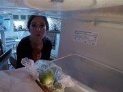 Buzdolabına naylon torba ile yiyecek koymayın!