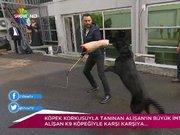 Alişan K9 köpeğiyle büyük imtihanı