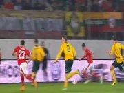 İsviçre'nin 3. golü Shaqiri'den