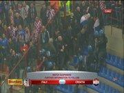 İtalya - Hırvatistan maçında olaylar çıktı