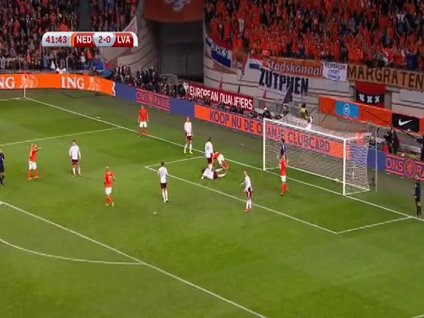 Hollanda-Letonya: 6-0