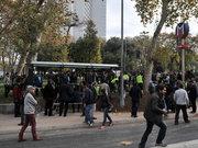 """Gezi parkında """"durak"""" nöbeti"""