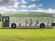 İnsan dışkısı ve yemek artığıyla çalışan otobüs