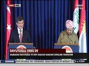 Davutoğlu Erbil'de