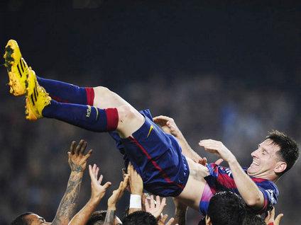 İspanya'nın Kralı Messi