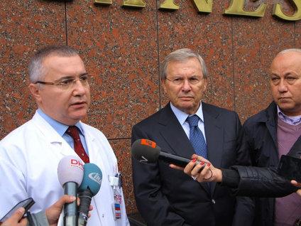 Cüneyt Çakır hastaneye kaldırıldı