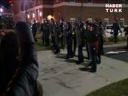 Ferguson'da olaylar çıktı