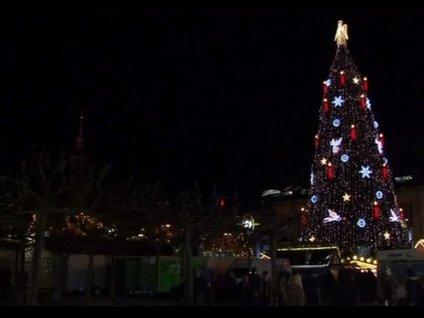 İşte dünyanın en büyük Noel ağacı