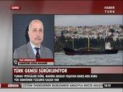 Türk gemisi fırtına nedeniyle sürükleniyor