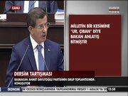 Başbakan Davutoğlu Bahçeli'ye meydan okudu