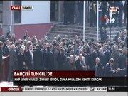 Devlet Bahçeli Tunceli'de