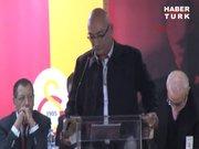 Osman Tanburacı, Galatasaray Genel Kurulunda söz aldı