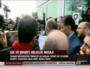 Ahmet Şık ve Nedim Şener'e helallik mesajı