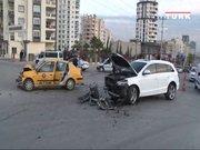 Servet Çetin, trafik kazası geçirdi