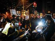 ABD'de polise öfke dinmiyor