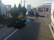 İzmir'de kaza!