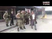 Ankara'da askerle polis karşı karşıya geldi