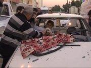 Adana'da ilginç kaza
