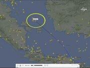 Malezya uçağı böyle kayboldu
