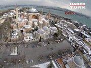 Kar altında İstanbul görüntüleri