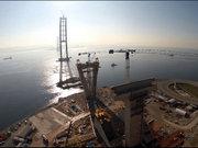 Geçiş köprüsü tamamlandı