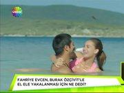 Fahriye Evcen'den yeni filmi için şarkı