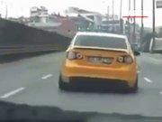 Trafik güvenliğini hiçe saydı!