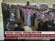 Suudi Arabistan Kralı uğurlandı