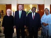 Cumhurbaşkanı Erdoğan Cibuti'de