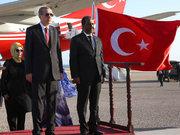 Erdoğan Somali'de konuştu