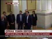 Aleksis Çipras görevi devraldı