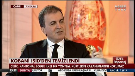 ÖMER ÇELİK HABERTÜRK'TE