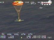Havada yakıtı biten uçak okyanusa böyle indi
