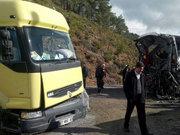 Antalya'da korkunç kaza: 4 ölü
