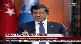 Başbakan Davutoğlu'ndan Bank Asya açıklaması