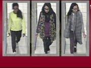 3 kızın Suriye yolculuğu görüntüleri ortaya çıktı