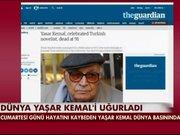 Dünya Yaşar Kemal'i uğurladı
