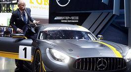 Mercedes Benz Cenevre basın toplantısı