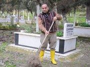 Cezası mezarlık temizlemek
