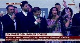 Başbakan Memleketim türküsünü söyledi!