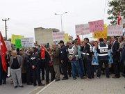 Dalaman'da vatandaşlar ihaleye tepki gösterdi