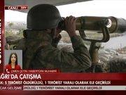TSK'dan açıklama: 5 terörist öldürüldü, 1 terörist yaralı