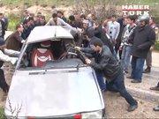 Gaziantep'te trafik kazası: 2 ölü, 6 yaralı