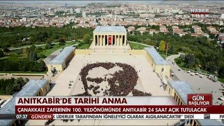 ANITKABİR'DE BİR İLK!