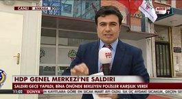 HDP'ye silahlı saldırı!