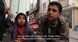 Suriyeli İbrahim'den insanlık dersi
